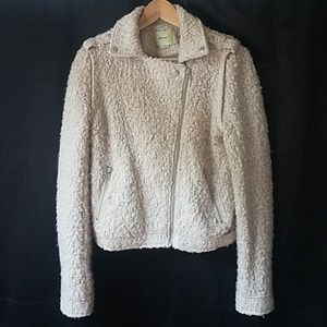 Anthropologie Jackets & Coats - Elevenses S boucle moto jacket